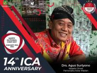 HAPPY 14th ANNIVERSARY ICA & HAPPY NATIONAL CHEF DAY