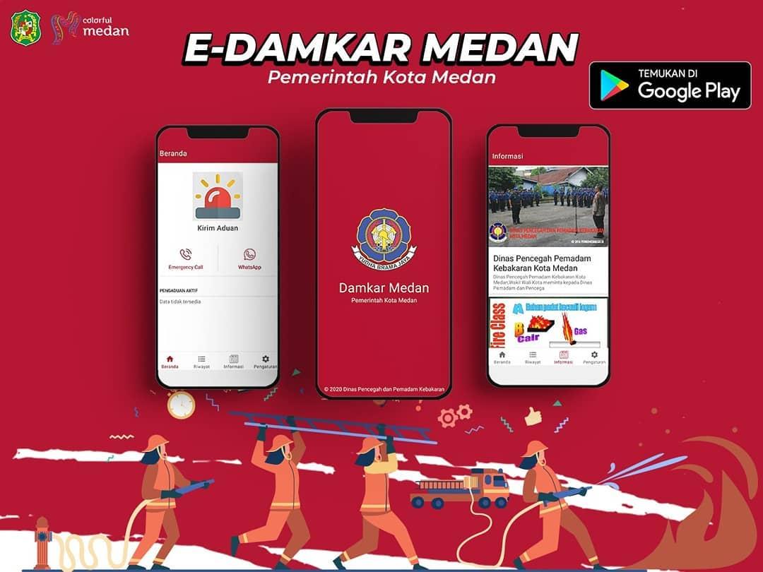 Aplikasi E Damkar Medan